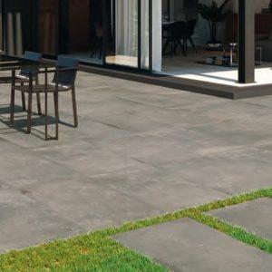 pavimento exterior cemento