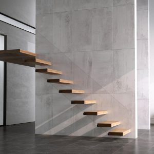 pavimento interior metal