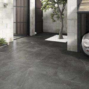 pavimento exterior piedra