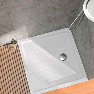 platos de ducha enmarcados