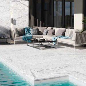 pavimento exterior mármol