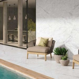 revestimiento exterior mármol